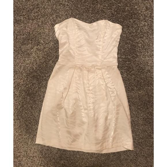 210a8161bf4f Windsor Dresses | White Strapless Dress | Poshmark